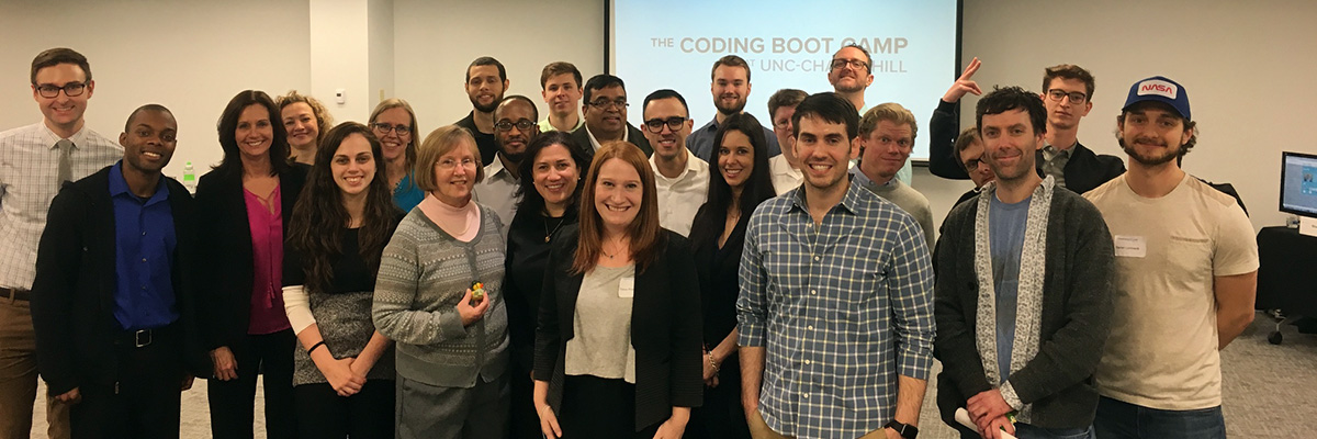 Student Experience The Coding Boot Camp at UNC Chapel Hill